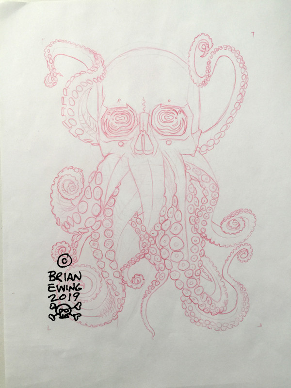 """      METALLICA"" Original Pencil Art"