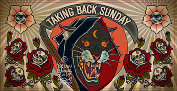 """      TAKING BACK SUNDAY"" Original Art"