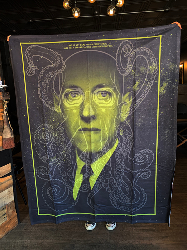 """      LOVECRAFT"" BLANKET"