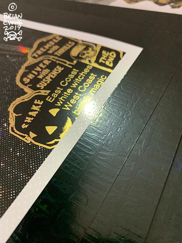 KIRK HAMMETT IT'S ALIVE - FOIL SIGNED BY KIRK!!!