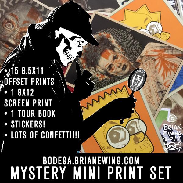 MYSTERY MINI PRINTS!