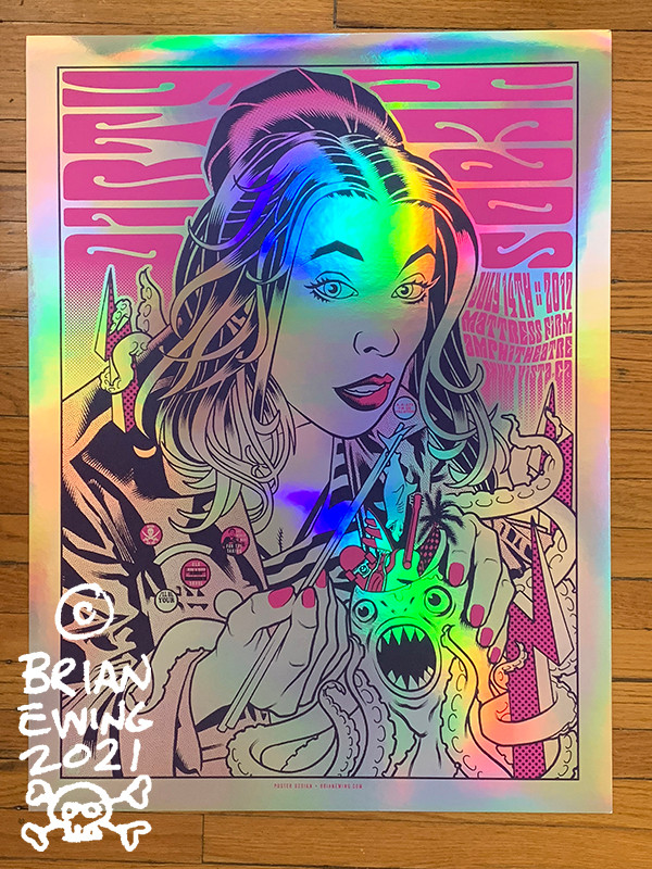 """"""" DIRTY HEADS"""" MIRROR Foil 2 DINGED"""