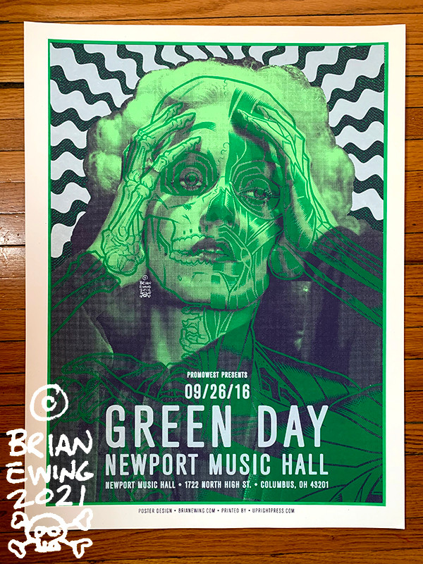 """""""        GREEN DAY"""" DINGED"""