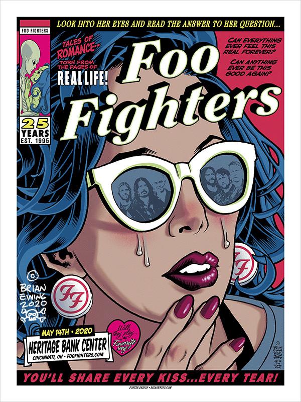 FOO FIGHTERS - CINCI REGULAR A/P