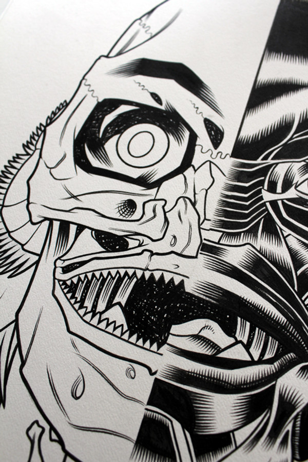 CREATURE ORIGINAL ART