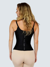 Waist Trainer Vest With Adjustable Straps And Hooks