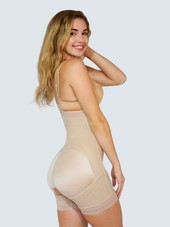Plus Size Butt Lifter Body Shaper With Tummy Control and Removable Strapes