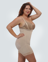 Plus Size Butt Lifter Body Shaper With Tummy Control and Removable Straps