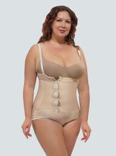 Body Suit Cotton Waist Trainer Plus Tummy Control