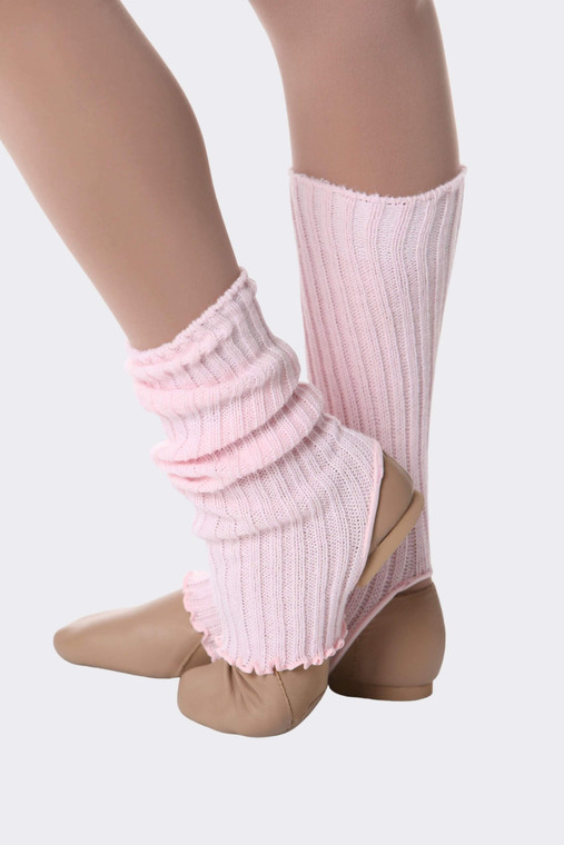 Pale Pink Ankle Warmers 35cm