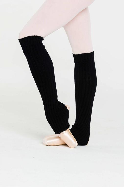 Black Leg Warmers 60cm