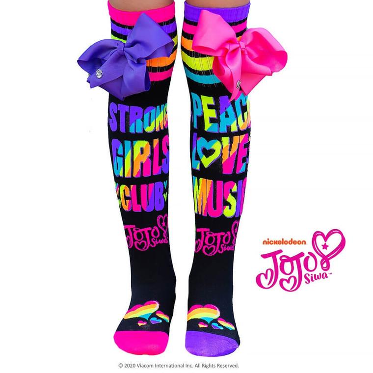 JOJO  Peace Love Music Socks