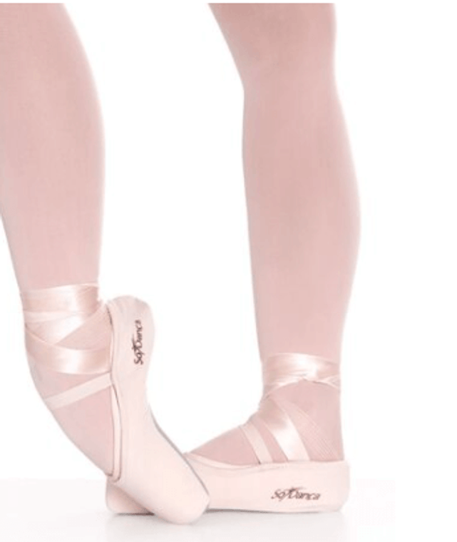 So Danca Pointe Shoe Covers with Elastic