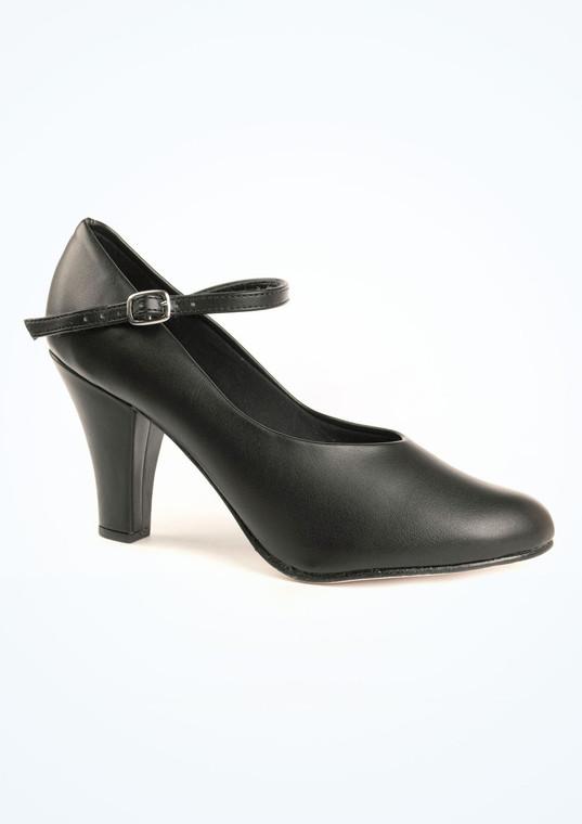 SoDanca Chloe 3 Inch Chorus Shoe Black