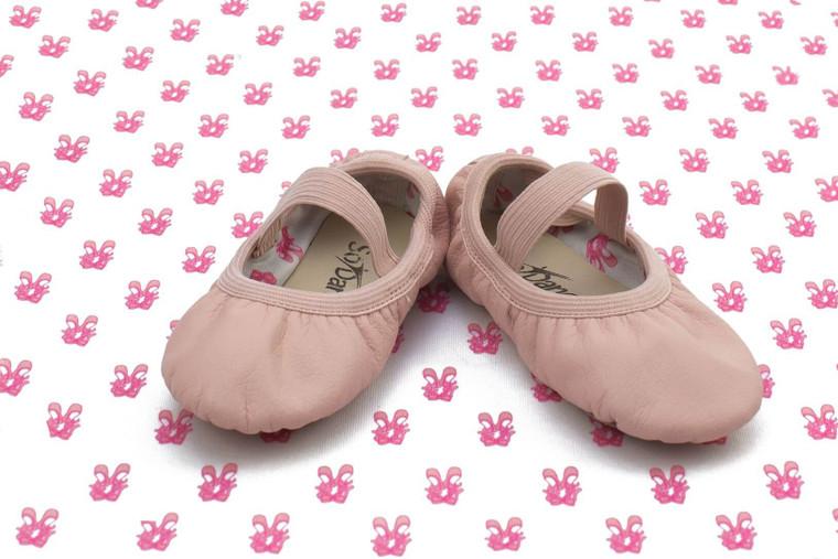 So Danca Bella Premium Leather Full Sole Ballet Shoe