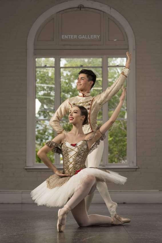 Custom Paquita Tutu & Mens Ballet Tunic
