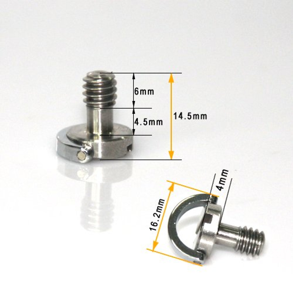 Quick release Camera Fixing screw 1/4 inch 838