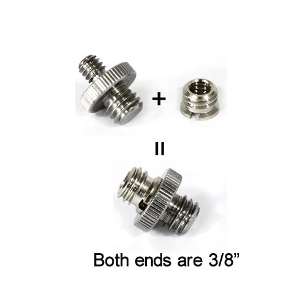 "New Thread adapter w/ 1/4"" to 3/8"" thread 10pcs Pack 856"