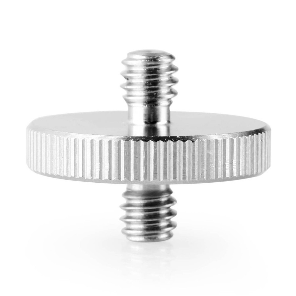"BIG Double Head Stud with 1/4"" to 1/4"" thread 859"