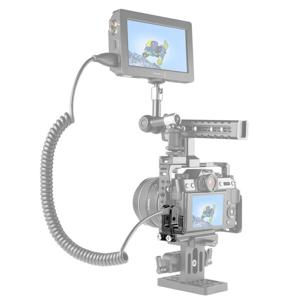 SmallRig HDMI Cable Clamp for Sony a7IIa7RIIa7SII 1679