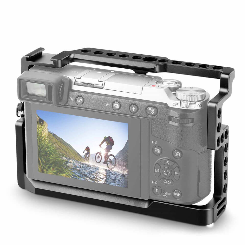 SmallRig Camera Cage for Panasonic Lumix DMC-GX85GX80GX7 Mark II 1828