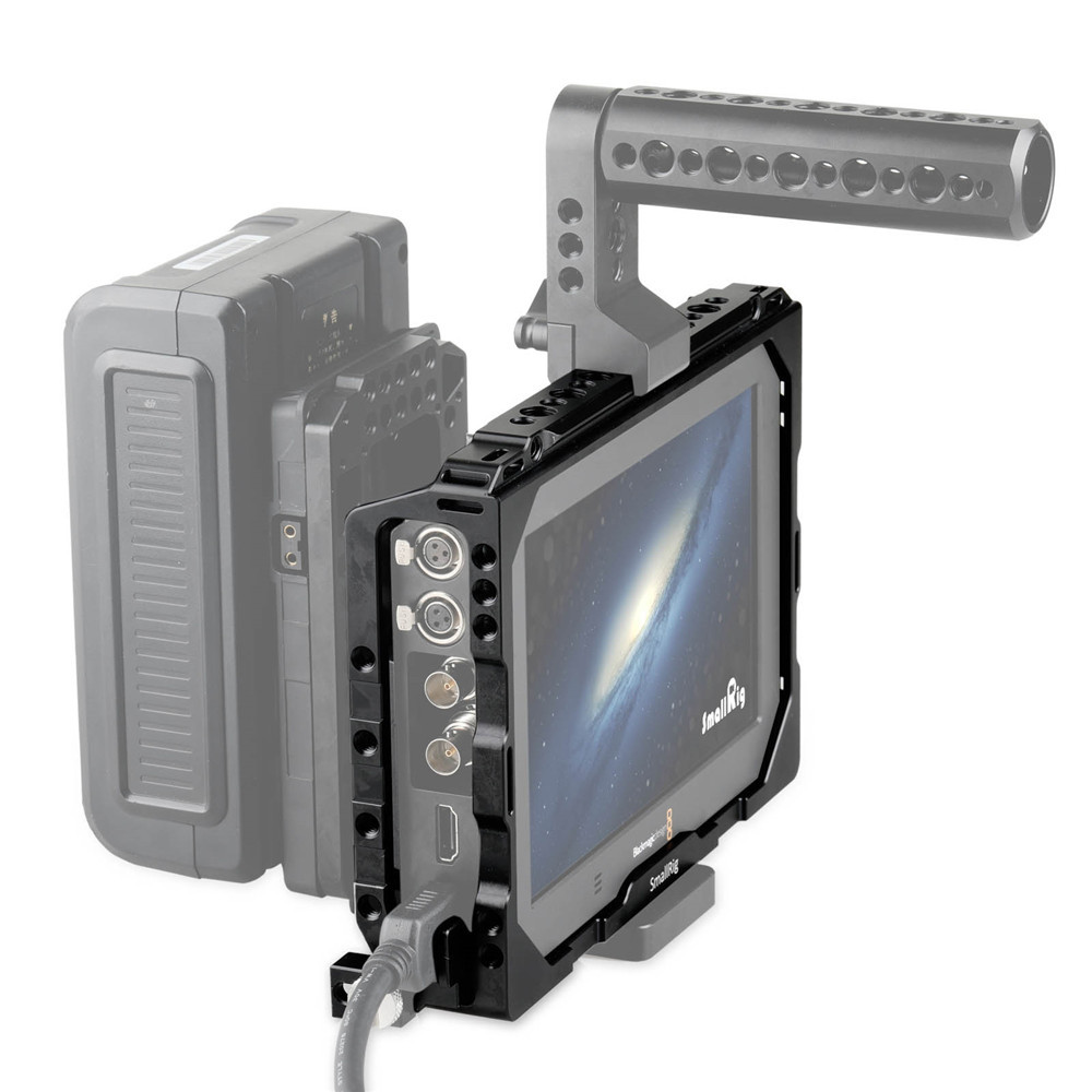 blackmagic video assist  SmallRig Video Cage for Blackmagic Video Assist 1830