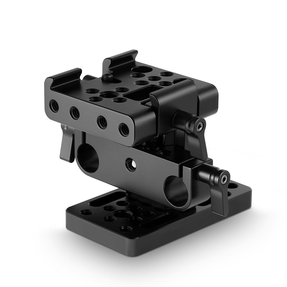 SmallRig Baseplate (Manfrotto) with 15mm Dual Rod Clamp 1990