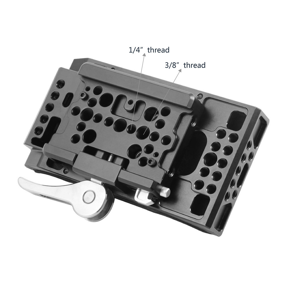 SmallRig Universal Shoulder Pad with Drop-In Baseplate (Manfrotto) 2078