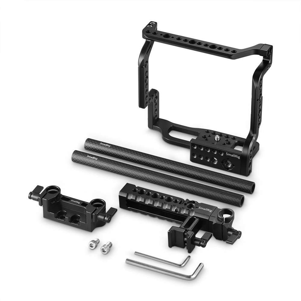 SmallRig Cage Kit for Fujifilm X-H1 Camera with Batteray Grip 2136