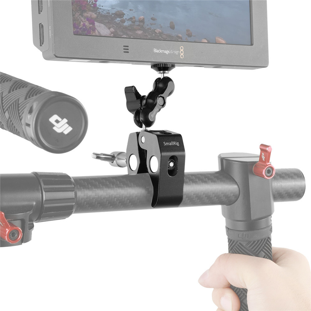 SmallRig multi-functional crab-shaped clamp with ballhead 2161