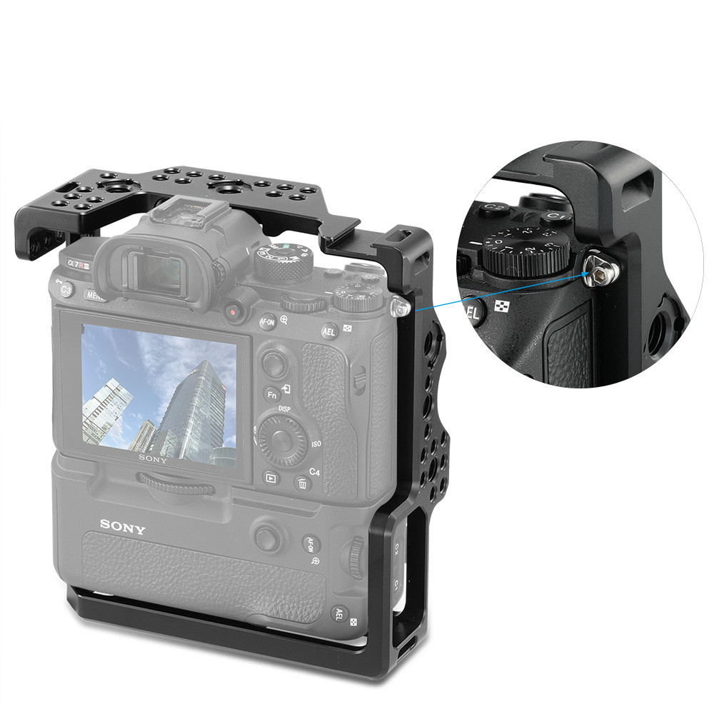 SmallRig Cage for Sony A7RIII/A7M3/A7III with VG-C3EM Vertical Grip 2176