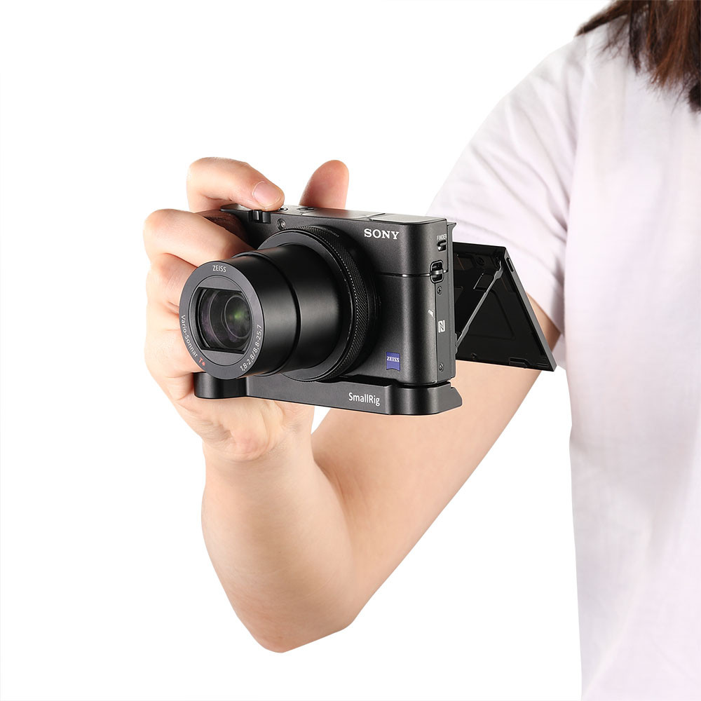 SmallRig L-shape wooden grip for Sony RX100 III IV V VA 2248