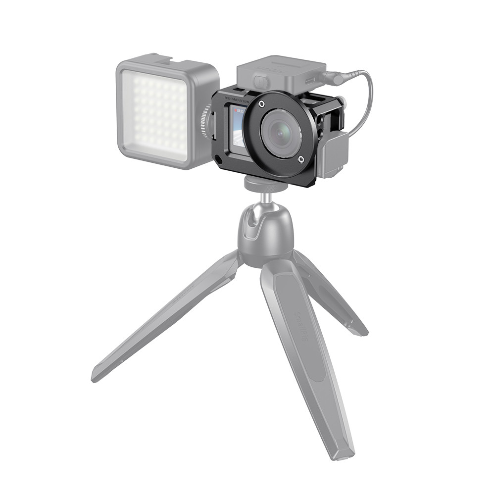 SmallRig Cage for DJI Osmo Action (Compatible with Microphone Adapter) CVD2475