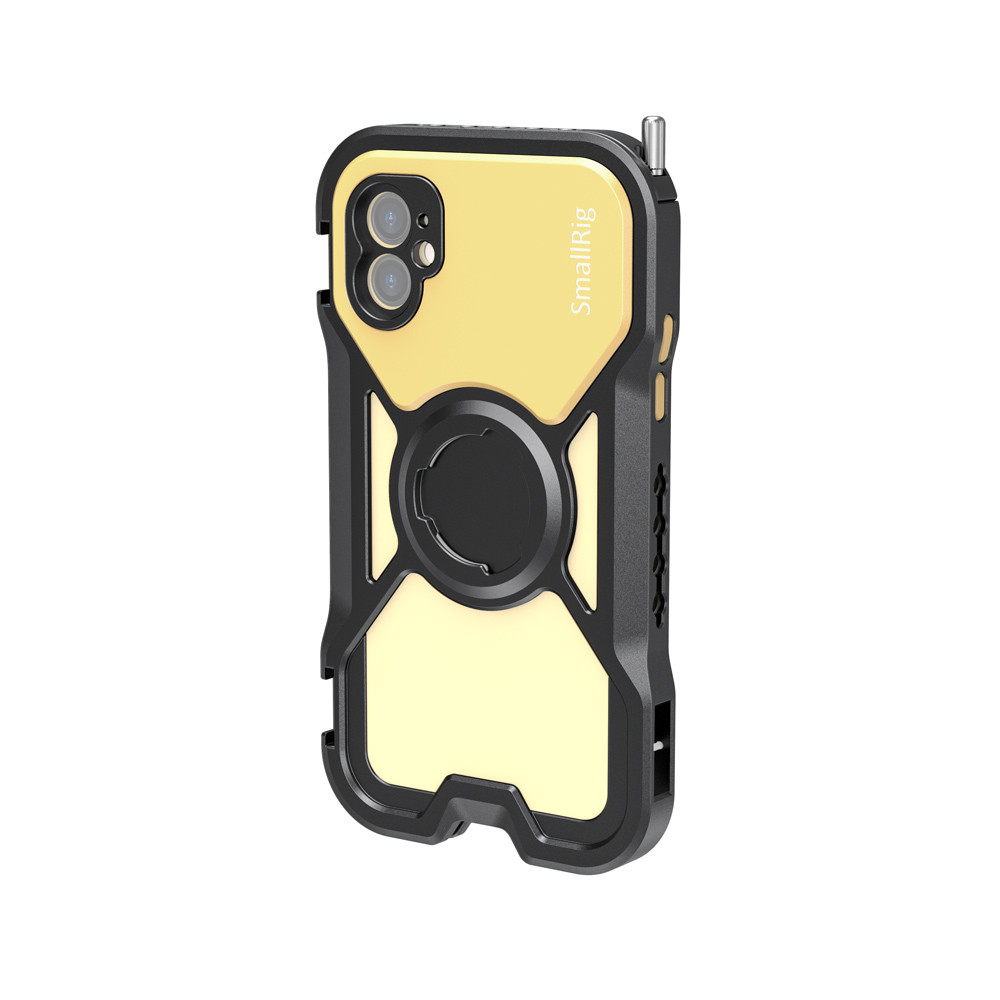 SmallRig Pro Mobile Cage for iPhone 11 (Yellow) CPA2631