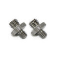 """Double Head Stud with 1/4"""" to 3/8"""" thread 855"""