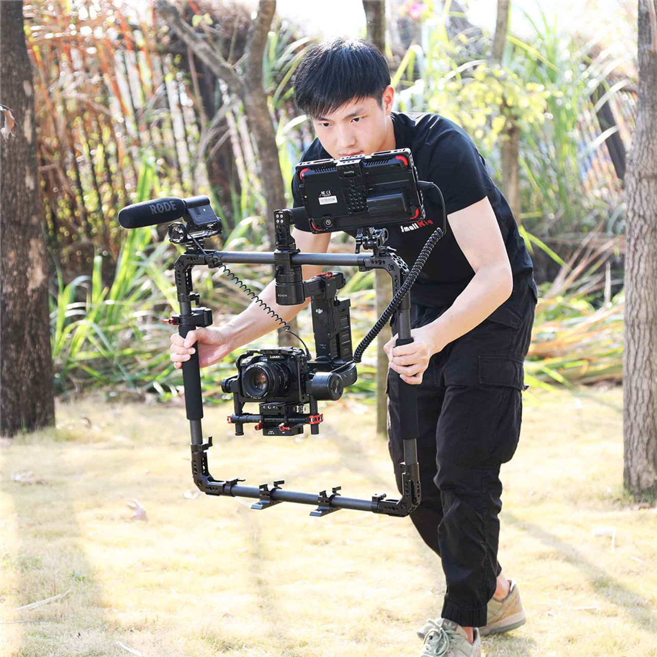SmallRig Handheld Ring with Corner Plate for Ronin//Ronin M//Ronin MX Stabilizer