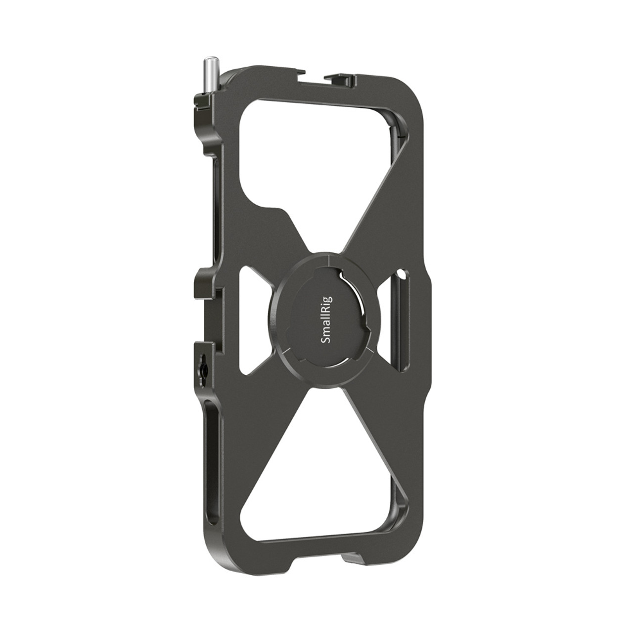 SmallRig Side Handle Aluminum with Cold Shoe and 1//4 Threads for Smartphone Video Rig Cage Mobile Phone Pocket Cage HSS2424