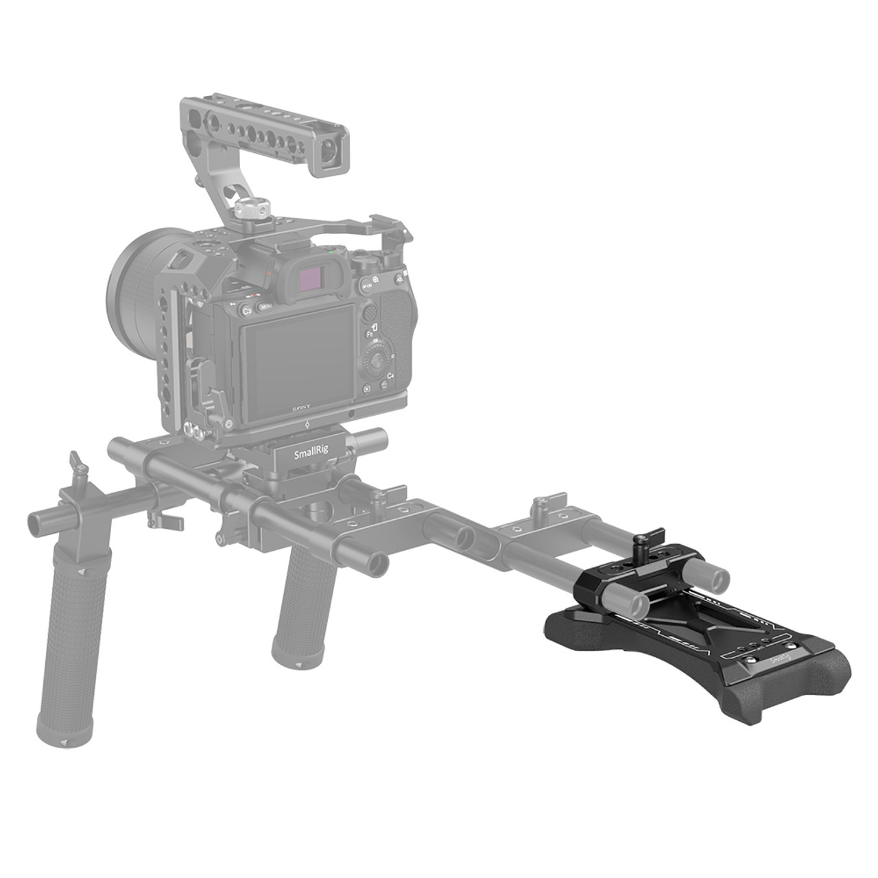 SmallRig Universal Basic Shoulder Pad with Rod Clamp 2894