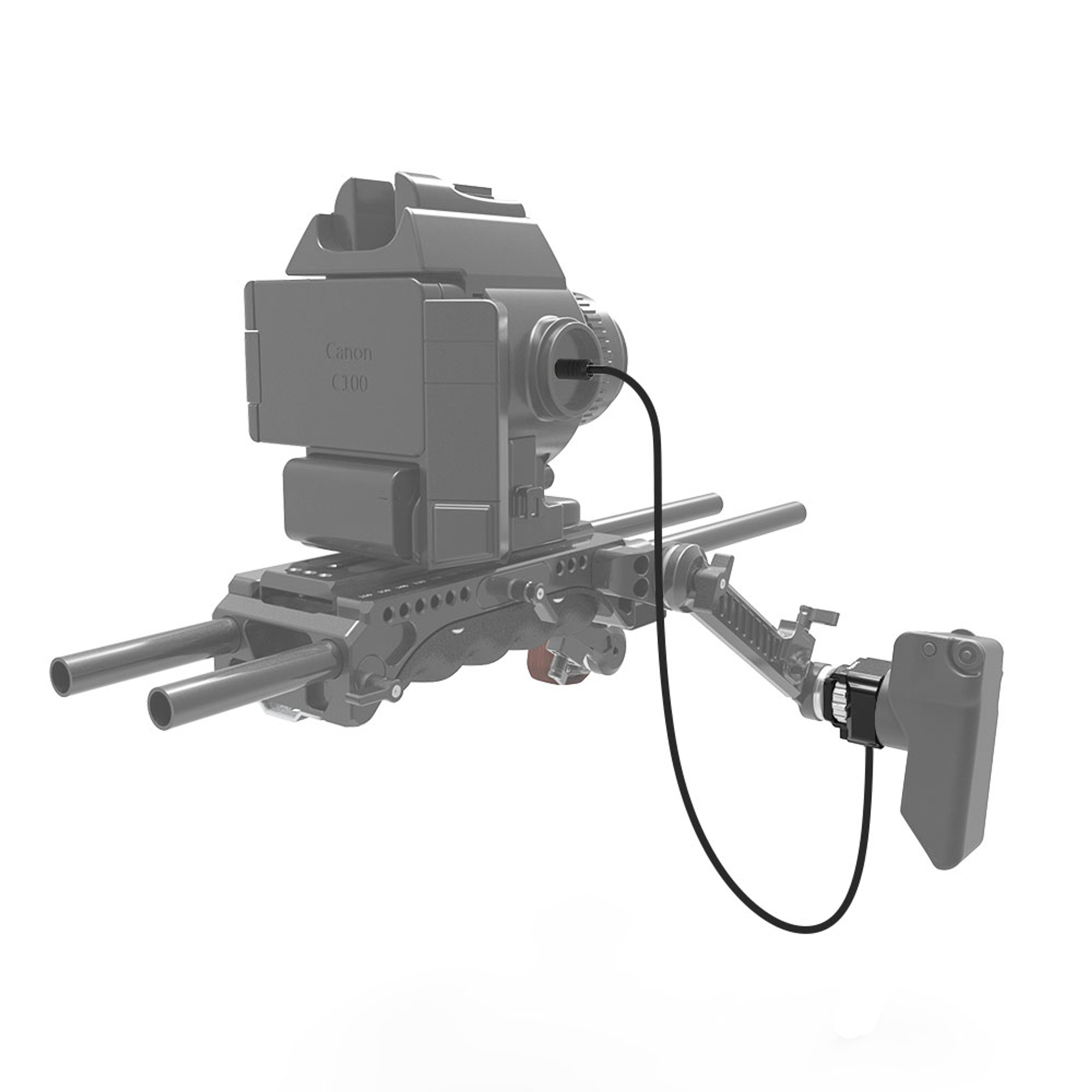 SmallRig Grip Relocator with ARRI Rosette for Canon C100