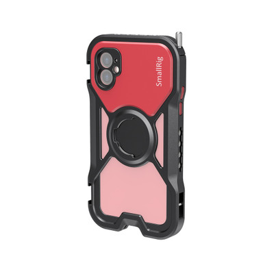 SmallRig Pro Mobile Cage for iPhone 11 (Red) CPA2630