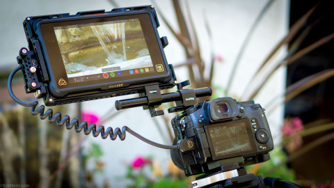 SmallRig Atomos monitor cage hands-on review