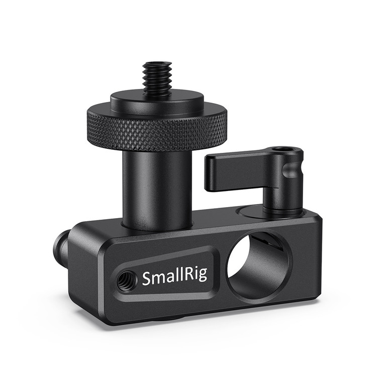 """SmallRig 90 Degree 15mm Rod Clamp with 1/4""""-20 Screw Adapter DCD1112B"""