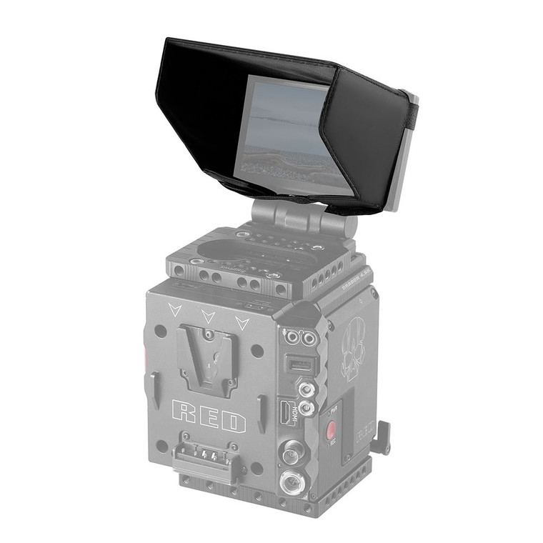 SMALLRIG Red 4.7 LCD Monitor Sunhood 1845