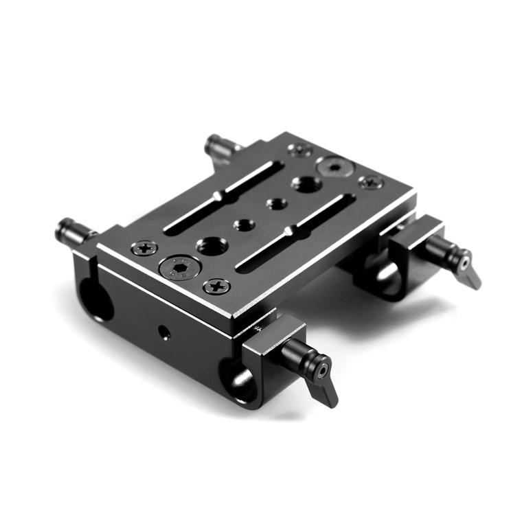 Tripod mounting plate 2 w/ 2pcs 15mm railblock 914