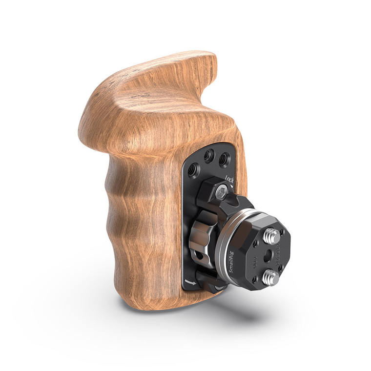 SmallRig Right Side Wooden Grip with Arri Rosette Bolt-On Mount 2083
