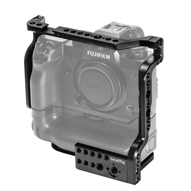 SmallRig Cage for Fujifilm X-H1 Camera with VPB-XH1 Battery Grip 2124
