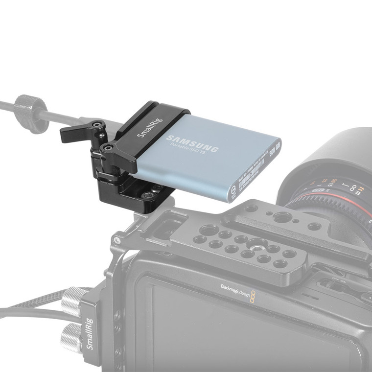 SmallRig Samsung T5 SSD Mount for BMPCC 4K/6K and Z CAM 2245