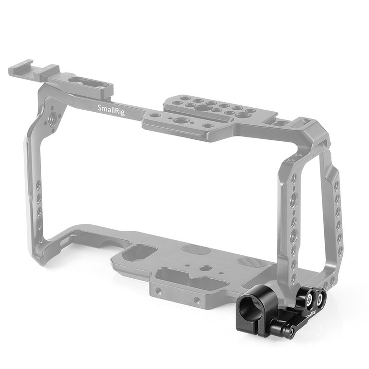 SmallRig 15mm Single Rod Clamp for BMPCC 4K & 6K Cage 2279