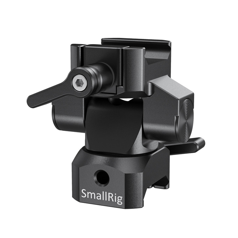 SmallRig Swivel and Tilt Monitor Mount with Nato Clamp(Both Sidesï¼?BSE2385