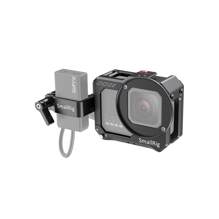 SmallRig Vlogging Cage and Mic Adapter	Holder for GoPro HERO8 Black CVG2678